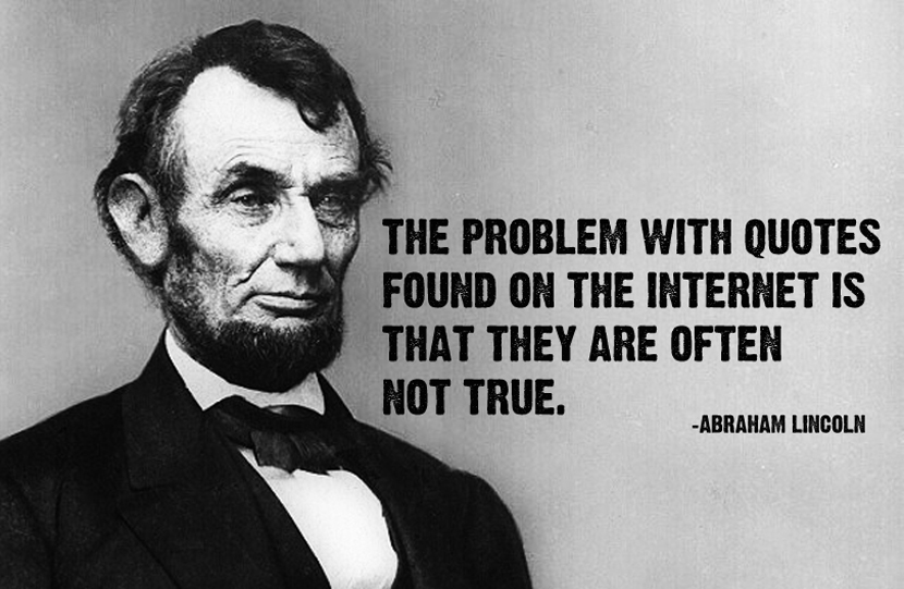 Here's Why Abraham Lincoln Never Trusted Google