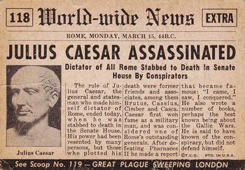 Caesar and All the News That's Fit to Carve