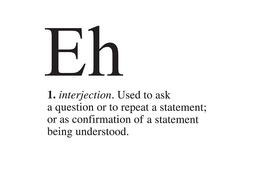 Do You Know Your Eh, B, C?