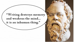 Take Note of How You Take Notes (But Don't Tell Socrates)