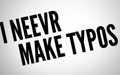 Do Typos Spell Trouble?